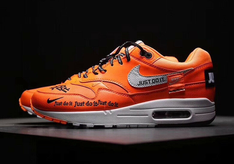 Nike air max 1 lux fallo orange donne dimensioni 6-10 nave