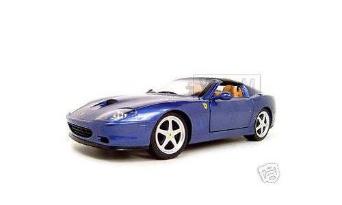FERRARI SUPER AMERICA blå 1  18 DIESbil modellllerL bil AV varmWklackar J2872