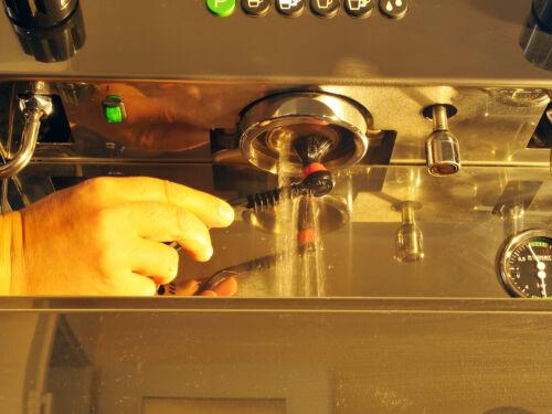 """Scarlet espresso Spazzola pulizia per brühgruppen /""""accurato Deluxe/"""" setaccio travi"""