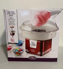 Nostalgia 450w Retro Electric Cotton Candy Maker Machine Uses Hard Candy
