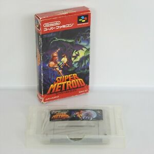 SUPER-METROID-Super-Famicom-No-Instruction-2167-Nintendo-sf