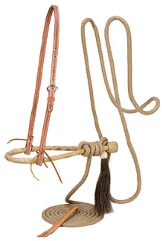 Weaver Leather Horse Training Bosal Hackamore PRO TAN