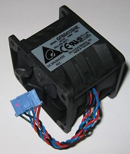Delta-50-mm-x-40-mm-Server-Dual-Fan-Assembly-12-VDC-GFB0412SHE-10000-RPM