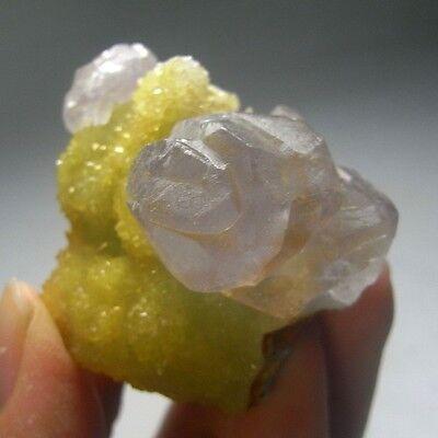 Rare Purple Calcite Crystal Specimen-cad2209