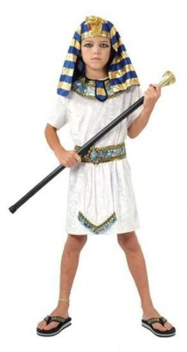 BOYS EGYPTIAN PHARAOH FANCY DRESS COSTUME