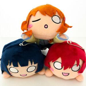 Love live Nijigasaki Gakuen School Idol Nesoberi Plush mascot complete full set