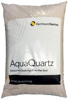 Aquaquartz Commercial Residential Swimming Pool Filter Sand 20 Grade - 50 Lbs on sale