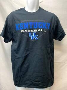 Neuf-Kentucky-Wildcats-Baseball-Hommes-Taille-M-Noir-J-America-Chemise