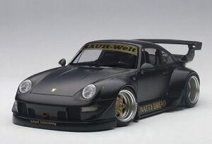 1/18 Auto Art - Porsche 993 Rwb (Noir Mat / Ou Roues)