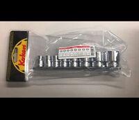 Whitworth 8 Piece Socket Set Triumph Norton Bsa