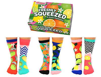 UNITED ODDSOCKS TROPICOOL FRUIT /& JUNGLE INSPIRED ODD SOCKS LADIES SIZE UK 4-8