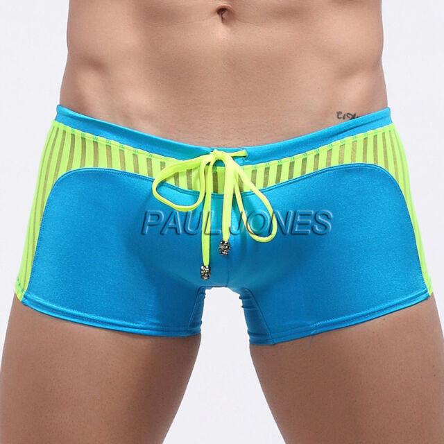 Sexy Men's Board Shorts Swimwear Swim Wear Bathing Boxer Briefs Beachwear Trunks