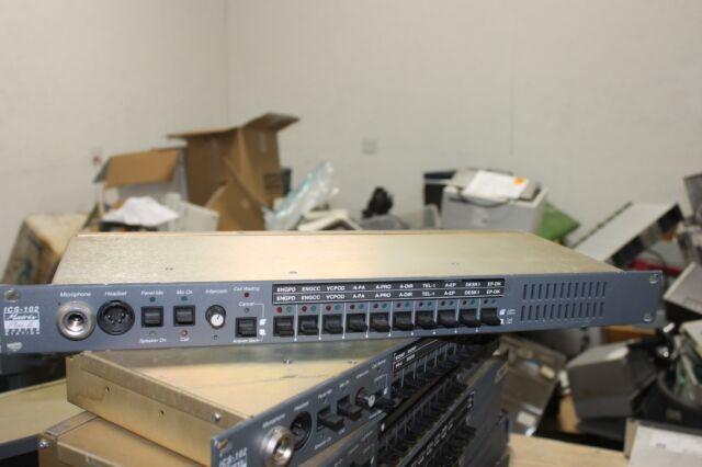 Clear-Com ICS-102 Intercom Systems Matrix Plus Master Station