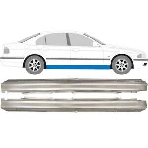 BMW-5-5er-E39-1996-2004-Limo-und-Kombi-Voll-Schweller-Reparaturblech-Paar