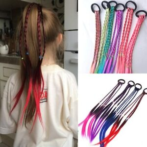 New-Girls-Elastic-Hair-Band-Rubber-Band-Hair-Accessories-Wig-Ponytail-Headband