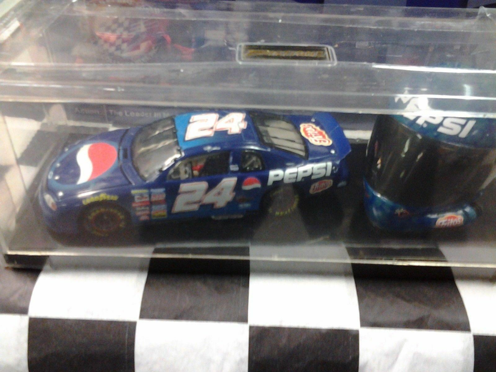 entrega rápida Jeff Gordon  24 Pepsi 1999 1999 1999 Acción Nuevo En Caja Escala 1 32 Coche Casco Set NC4252 NasCoche  tienda de descuento