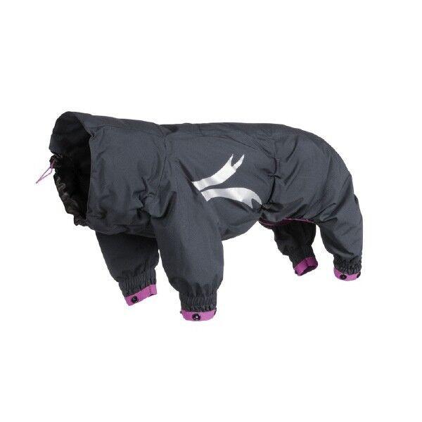 Hurtta Slush Combat Suit, granit -himbeer, 25M   | Verkauf