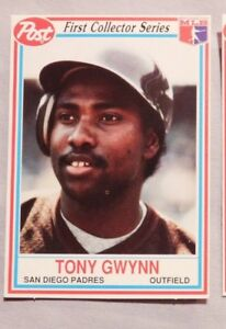 Details About 1990 Post Cereal Tony Gwynn Padres Baseball Card