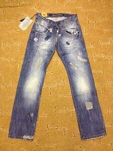 Herren-Jeans-W28-L32-destroyed-total-flippig-used-look-von-Cipo-amp-Baxx