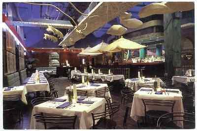 Simply Pasta 41st Street New York USA 6th & Broadway Restaurant Promo Postcard