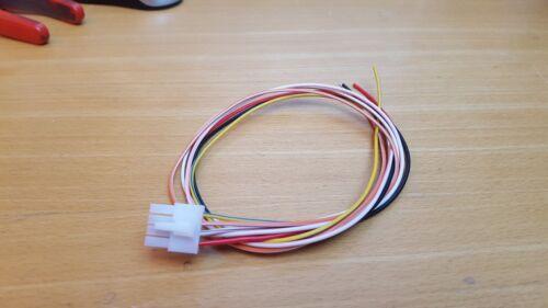 ALPINE TME-S370 en Dash Pantalla 8 Pin Cable Enchufe De Alimentación reposacabezas de plomo