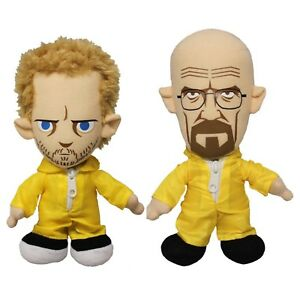 Breaking-Bad-XL-Walter-White-Jesse-Pinkman-Pluesch-Figur-2-x-20-cm-Heisenberg