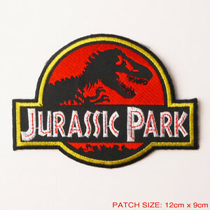 JURASSIC-PARK-Original-5-034-Movie-Prop-Themepark-Patch-Full-Prop-Size-Excellent