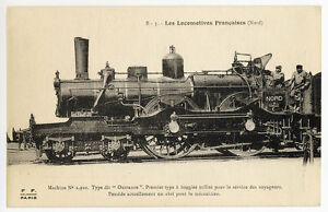 Railway-Postcard-P03130-Carte-Postale-Locomotives-Francaises-Nord-P-O-etc
