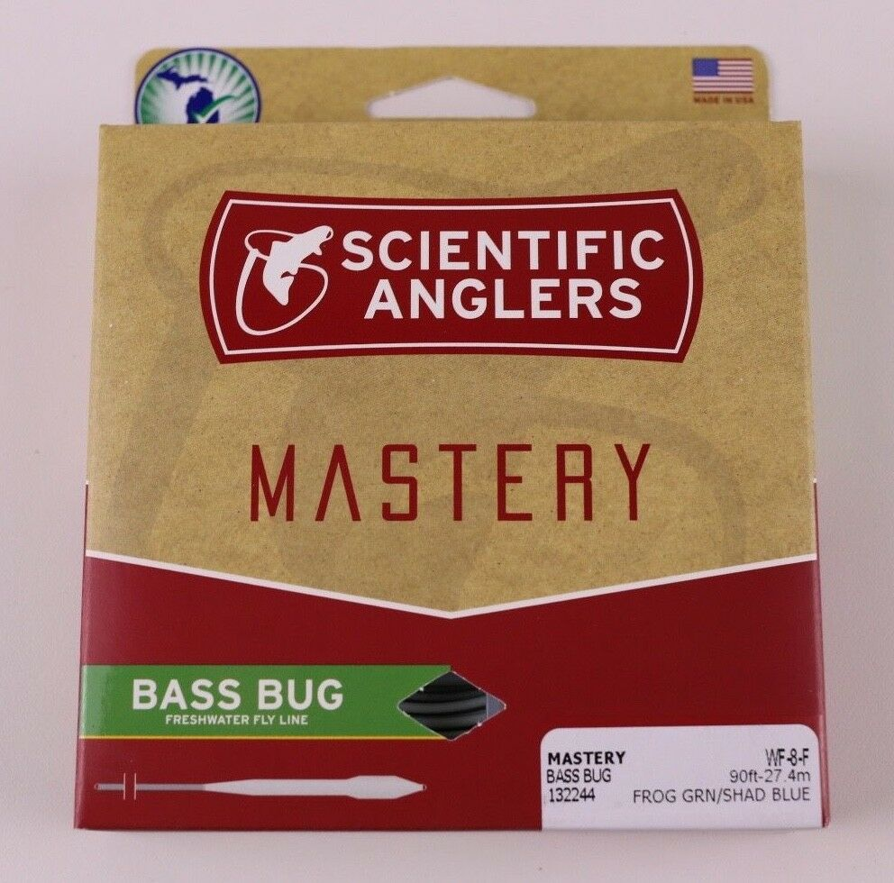 Scientific Anglers Mastery Bass Bug Fly Line WF8F Free Fast Shipping 132244