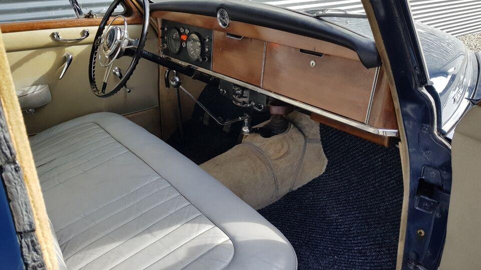 Rover P4 2,6 aut. Benzin aut. Automatgear modelår 1963 km
