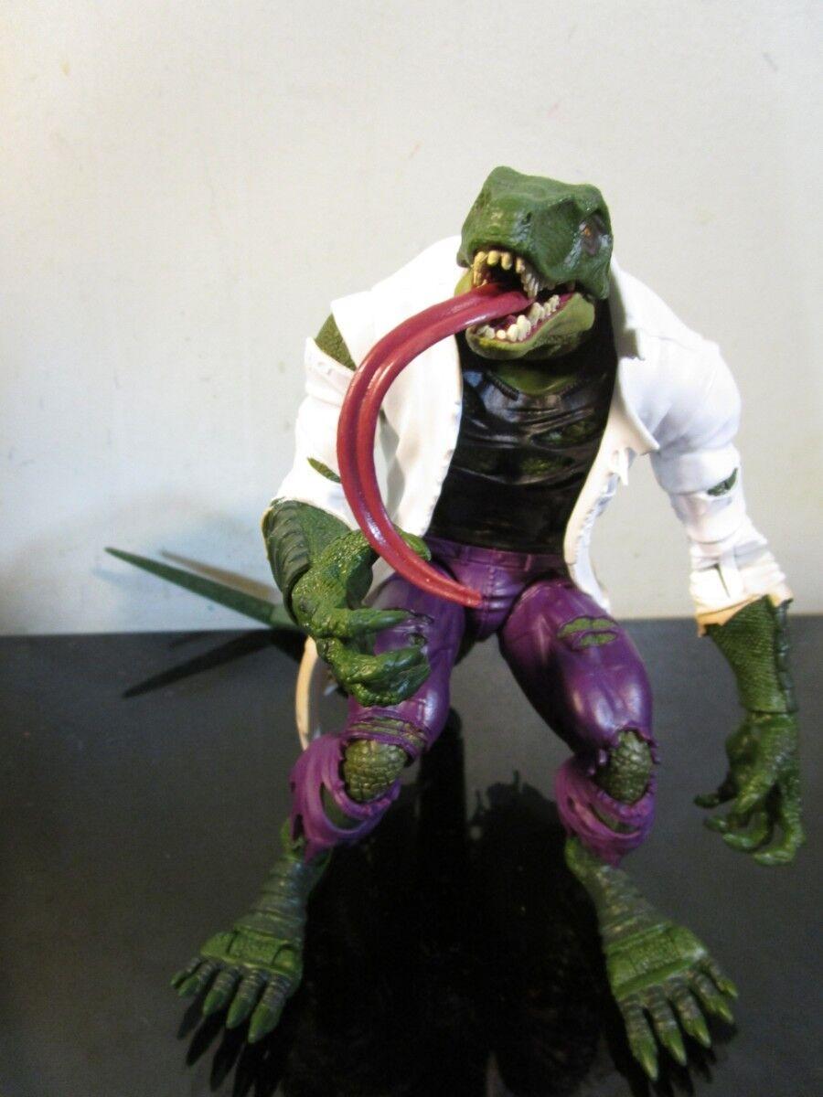 Marvel legends Hasbro Spider-Man series Lizard BAF complete