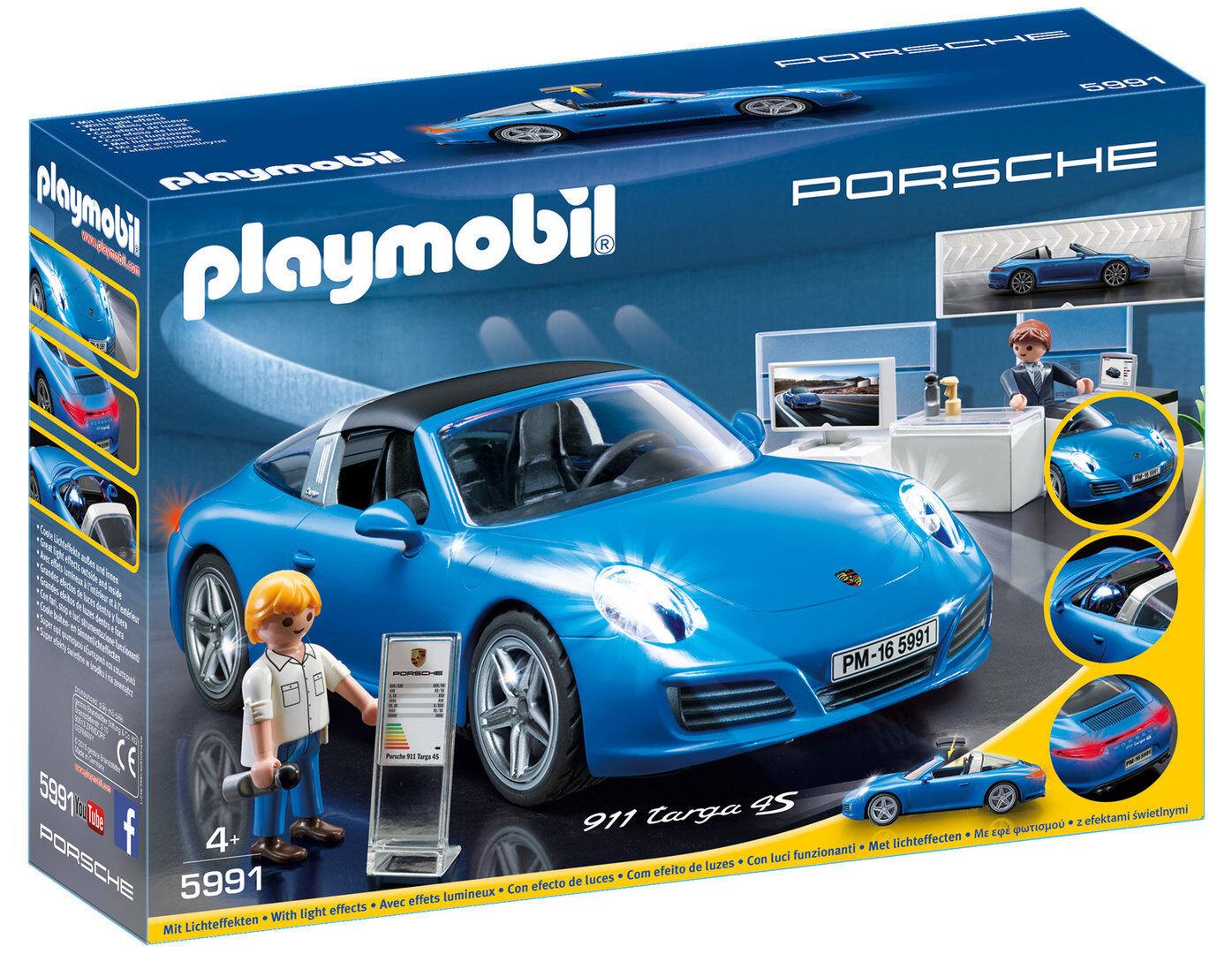 Playmobil 5991 - Porsche 911 Targa 4S - NUEVO
