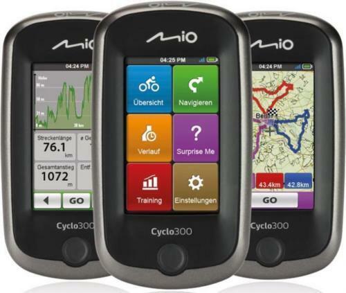 Navegador GPS Mio Cyclo 300 Europa   Cyclo300 Europa