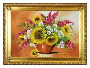 Oil-Painting-Pictures-Hand-Painted-with-Frame-Baroque-Art-G96537