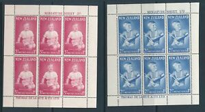 NEW-ZEALAND-1963-health-miniature-sheets-mint-never-hinged-cat-17