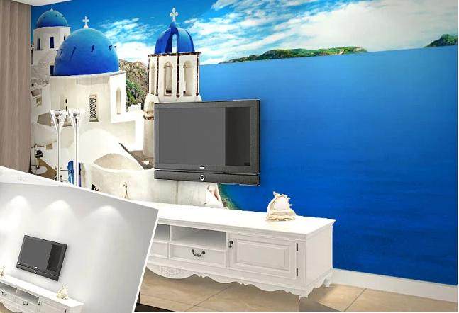 3D Church Ocean 784 Wall Paper Murals Wall Print Wall Wallpaper Mural AU Kyra