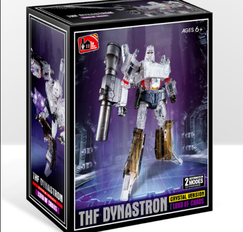 New ,Deformation toys THF-03T THF-03T THF-03T transparent version of  megatron head and chest 4c645d