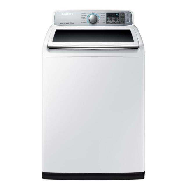 Samsung Wa50m7450aw 27 Inch Top Load Washer With Self Clean Soft Close Lid