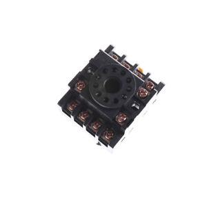 1Pcs Relay Socket PF113A 11-Pin Octal Base for JQX-10F NP 747710564209