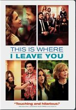 THIS IS WHERE I LEAVE YOU New Sealed DVD