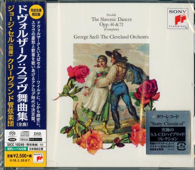 GEORGE SZELL-DVORAK: THE SLAVONIC DANCES-JAPAN SACD HYBRID Ltd/Ed F56