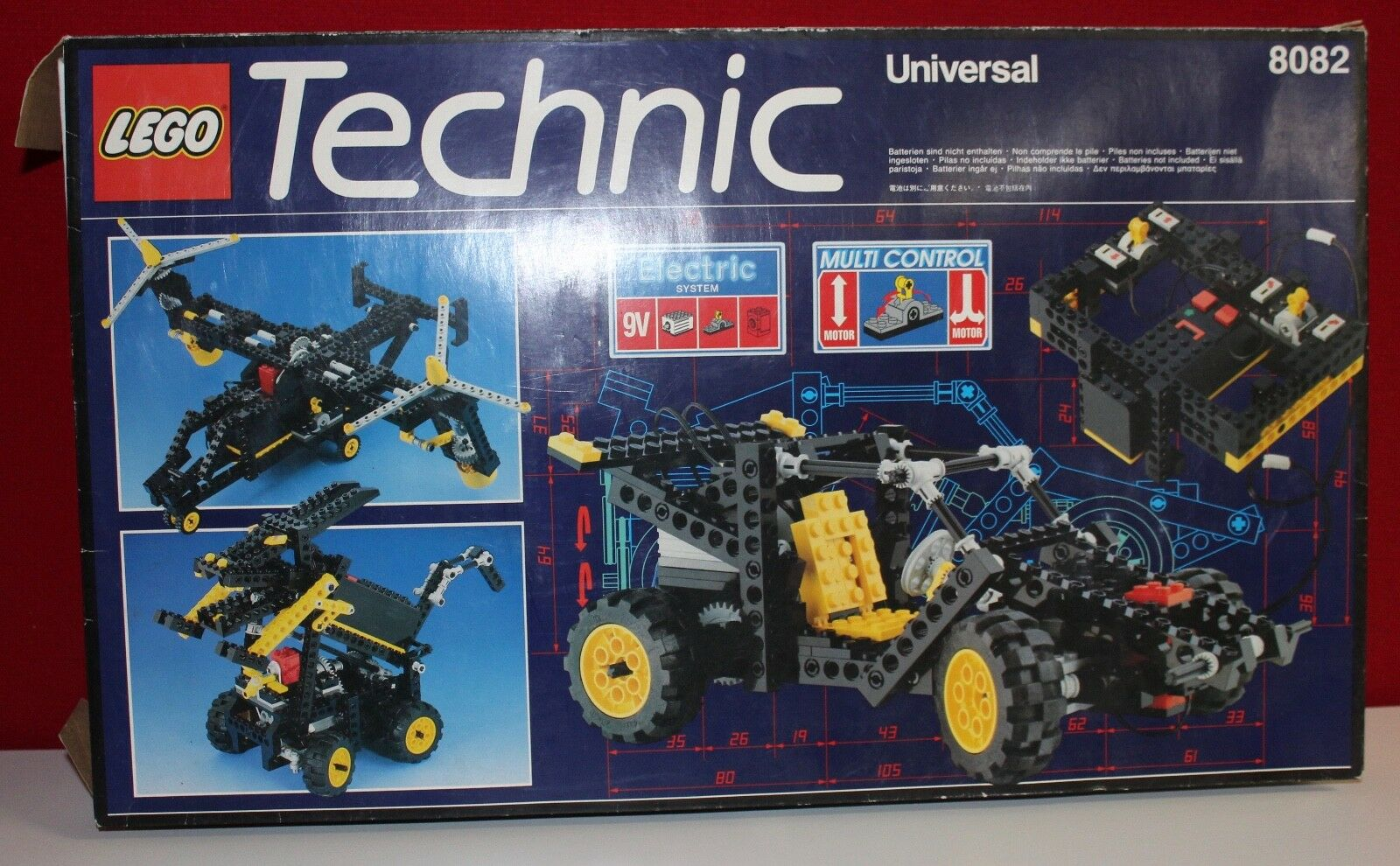 Lego Technic 8082 Multi Control Set Universal OBA; OVP; BOX;