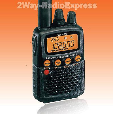 YAESU VR-120D Scanner Receiver, 0.1-1300 MHz CONTINUOUS!! AM, FM, Wide-FM Modes