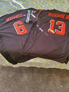 baker mayfield browns jersey 3xl
