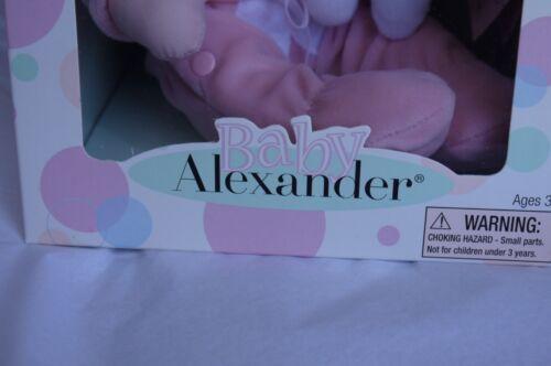 Madame Alexander Baby Alexander pink bunny huggums NEIMAN MARCUS New In Box