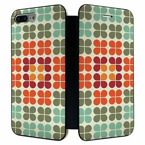 IPHONE-8-Plus-Complet-Etui-Portefeuille-Rabat-Housse-Retro-Motif-S2962