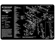 Beretta 92 - M9 Gun Cleaning Mat by TEKMAT
