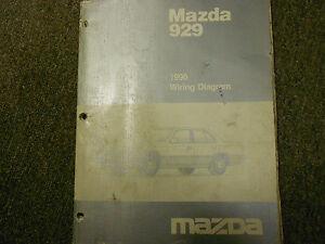 1990 Mazda 929 Electrical Wiring Diagram Service Repair ...