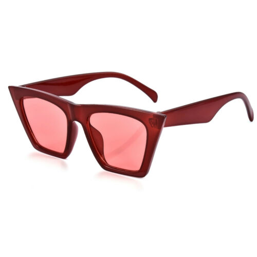 Retro Cat Eye Sunglasses Women Street Fashion Shades Oversized Eye Glasses UV400