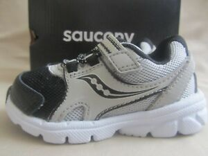 d08c6405 Details about Saucony Baby Vortex Sneakers Toddler Boys Size 5 Gray Black  New Without Box